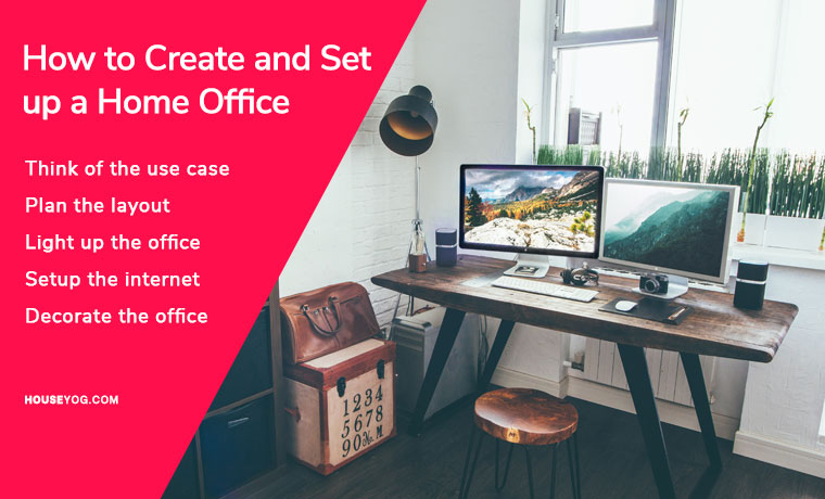 How to Create a Home Office and Setup it Easily in Budget