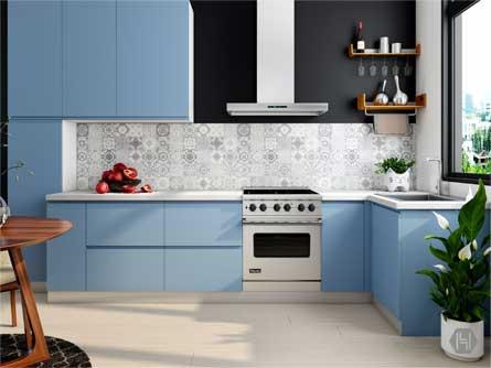 Plan for modular kitchen