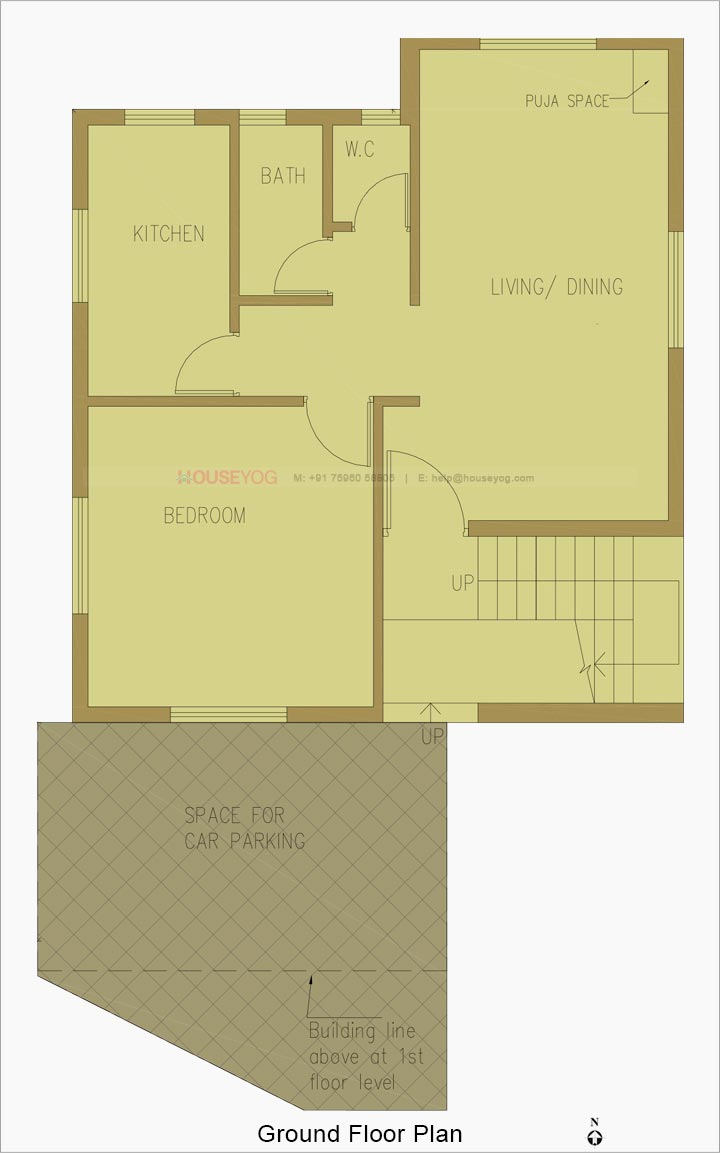 21 sq ft House Plan   21 BHK, South Facing House Floor Plan